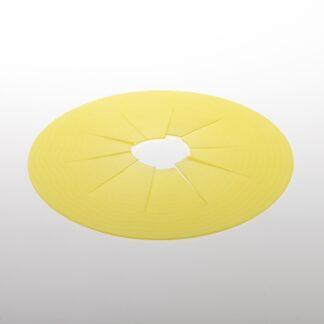 Gelbe Trainingsmembrane der loonadoor Katzentüre